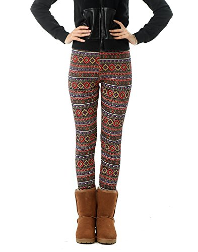 HDE Womens Leggings Thermal Stretch