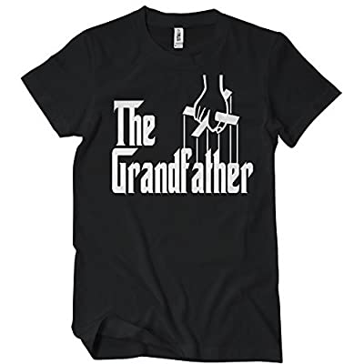THE GRANDFATHER TSHIRT Funny Family Grandpa TEE Awesome Grand Father shirt I'm a