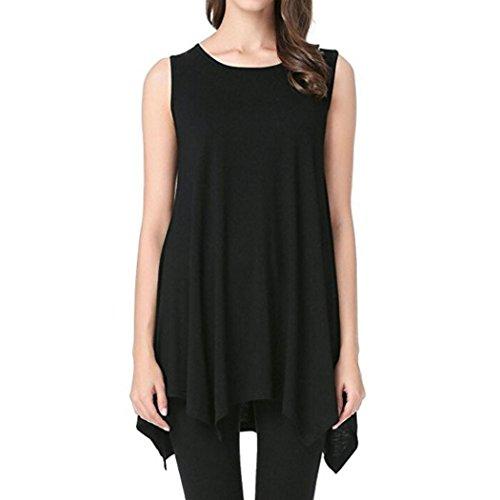 Amazon.com: Tank Tops for Womens, FORUU Fashion Loose Long Solid Swing Irregular Camis Vest: Clothing