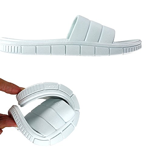 Slip Indoor Slippers Light Women Blue Outdoor Sandals Slipper 17KM Bath Soft Shower Toe Men Slide Non Sandals Open Flat avgXHw