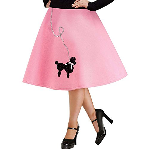 FunWorld Plus Size Poodle Skirt Costume