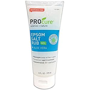 Pro cure S - Epsom Salt Rub 6 Oz