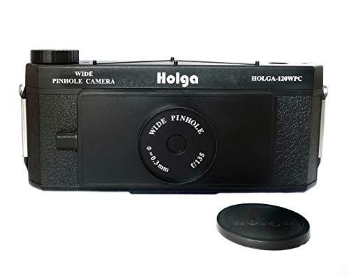 Holga 120 WPC Panoramic Pin Hole Camera Wide Format Film Lomo Camera Black