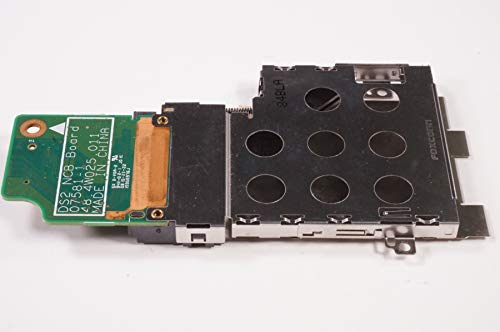 FMS Compatible with 48.4W025.011 Replacement for Dell Pcmcia Card Cage Board INSPIRON 1526 INSPIRON 1525 (Pcmcia Cage)