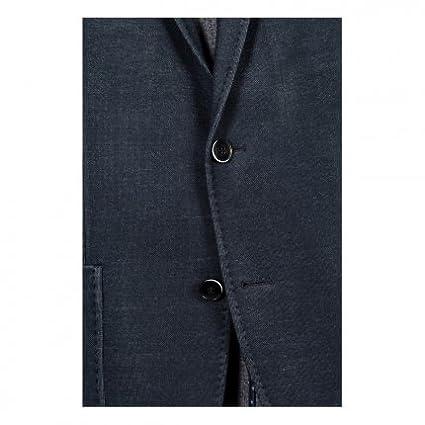 Michaelax-Fashion-Trade Benvenuto Black - Modern Fit - Herren Jersey Sakko  in modischer Optik, Riva (20790, Modell  62568)  Amazon.de  Bekleidung 2453fda27d