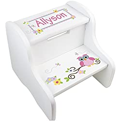 Personalized Nursery Step Stools Let S Personalize That