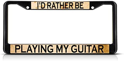 I/'d Rather Be Playing Guitar Coaster
