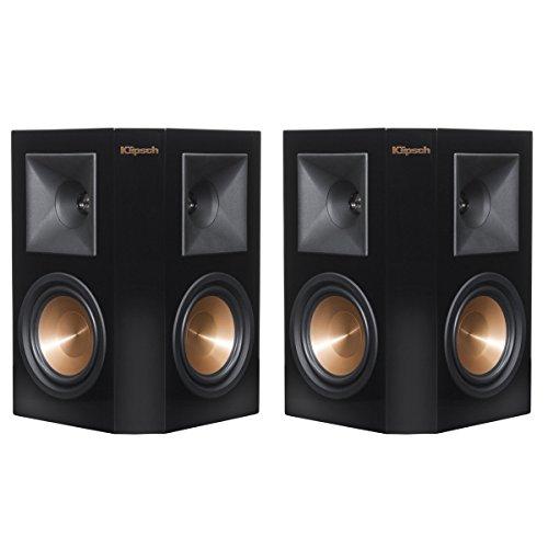Klipsch RP-240S Piano Black Surround Speaker - Pair (Certified Refurbished) by Klipsch