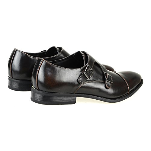 MM/ONE Mens Shoes Business Shoes Dress Shoes Laceup Shoes Formal Wedding Shoes Black Dark Brown Yompt109-5darkbrown JsY14pJ