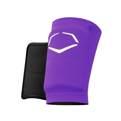 EvoShield Protective Baseball Wrist Guard,Purple,X-Large