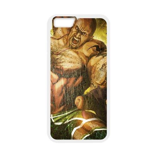 Street Fighter X Tekken Angry Body Muscles 22271 coque iPhone 6 4.7 Inch cellulaire cas coque de téléphone cas blanche couverture de téléphone portable EEECBCAAN04016