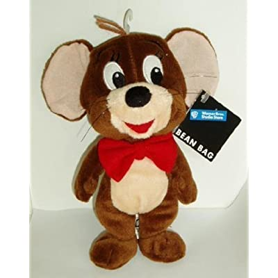 Warner Bros Studio Store Bean Bag 1998 Mouse - Jerry Stuffed Animal Plush: Toys & Games