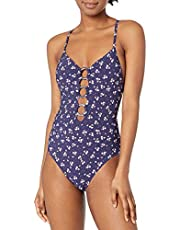 Seafolly Women's Ring Front Maillot One Piece Swimsuit