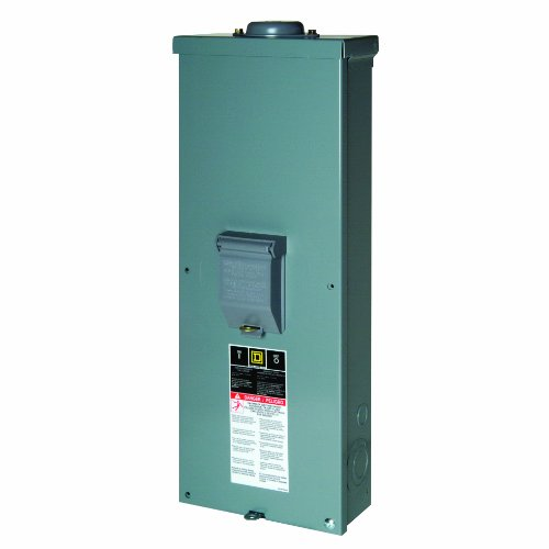 Square D by Schneider Electric QOM2E2200NRB QO 200 Amp Outdoor Circuit Breaker Enclosure (200 Amp 3 Phase Manual Transfer Switch)