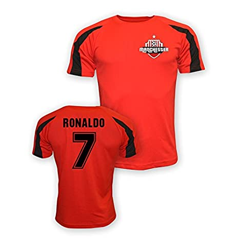 premium selection 1259e 3514c Amazon.com : Gildan Cristiano Ronaldo Man Utd Sports ...