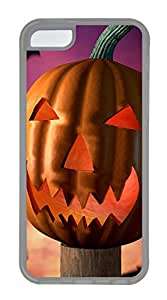 iPhone 5C Cases & Covers - Happy Halloween 2 TPU Custom Soft Case Cover Protector for iPhone 5C - Transparent
