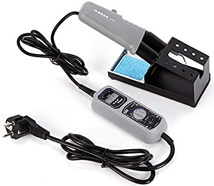 OUBAYLEW YIHUA 938D Portable HOT Pinza Mini estación de soldadura 220 V W/Stand para BGA