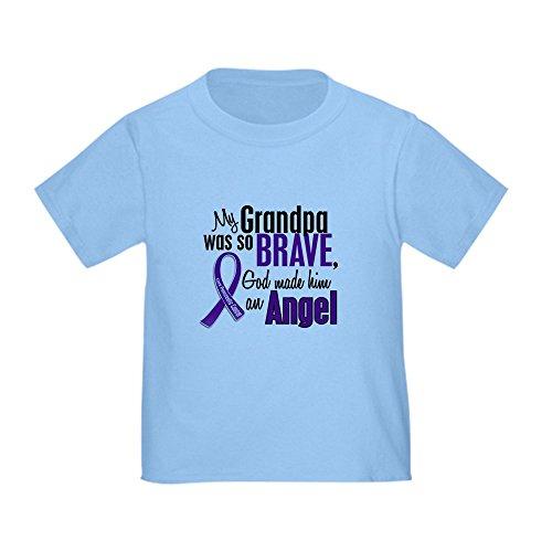 Angel Pancreatic Cancer T-shirts (CafePress - Angel 1 Pancreatic Cancer Toddler T-Shirt - Cute Toddler T-Shirt, 100% Cotton)