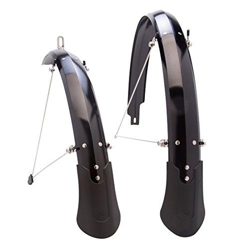 Planet Bike Cascadia ALX Bike Fenders, Black, 26