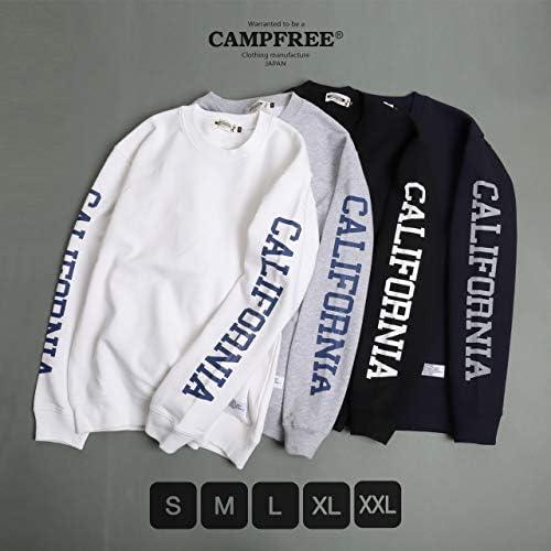 [キャンプフリー] CAMPFREE スウェット CALIFORNIA プリント トレーナー メンズ M.H.A.style 10174