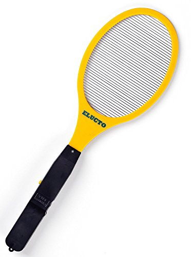 elucto-standard-electric-bug-zapper-fly-swatter-single-layer-yellow
