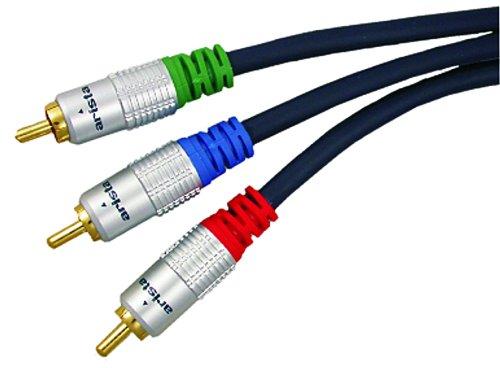 Arista 58-7438 Premium Component Video Cable, 6-Feet (Video 6' Component Premium)