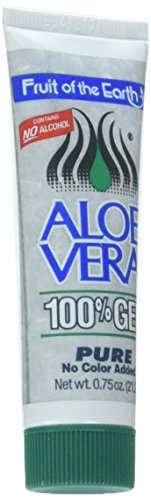 Fruit of the Earth Aloe Vera Gel - 0.75oz Tube (1 Case - 36 ()