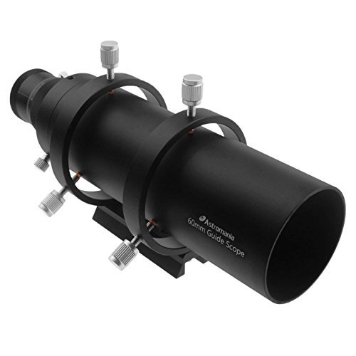 Astromania 60mm Compact Deluxe Finder & Guidescope Kit with 1.25'' Double Helical Focuser - Guiding with The Mini-Guide Scope: So Astrophotography is Easier and Less Equipment by Astromania (Image #2)