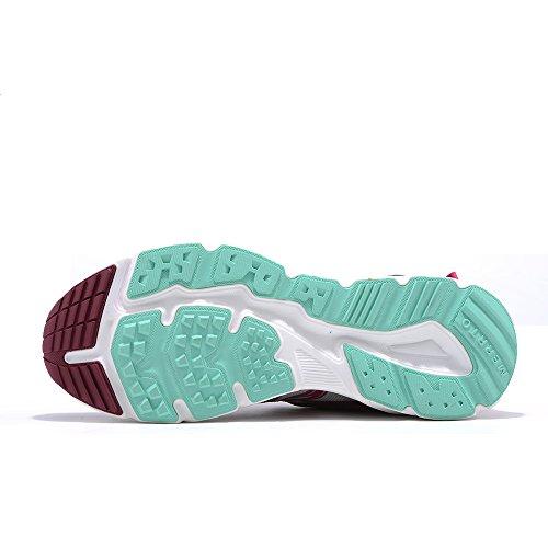 Chaussures De Trekking Outdoor Merrto Womens (6.5, Rose Rouge)