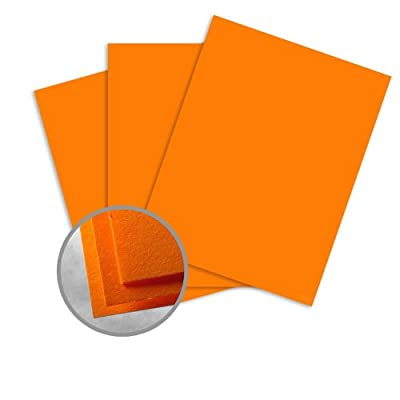 Astrobrights Cosmic Orange Paper - 8 1/2 x 14 in 60 lb Text Smooth 500 per Ream