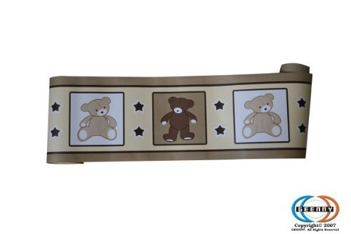 UPC 813026011253, GEENNY Wall Border, Boutique Teddy Bear