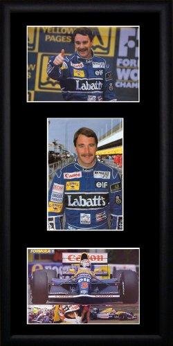 Nigel Mansell Framed Photographs