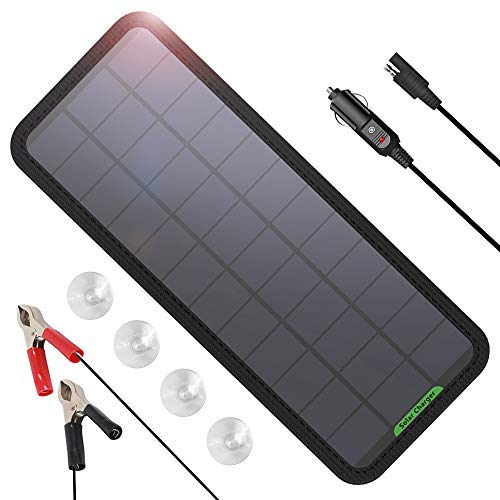 GIARIDE 7.5W-Solar-Battery-Trickle-Charger-Maintainer- Portable
