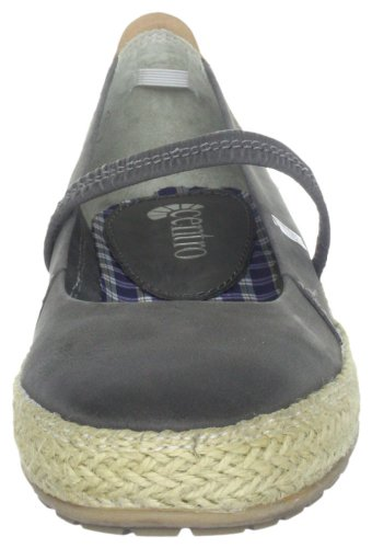 Gris Zapatos Cuero 840400 Para De Centro Mujer KYqF5w5OZ