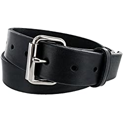 Hanks Gunner - Concealed Carry - EDC Belt - 100 Year Warranty USA Made - Black - 40