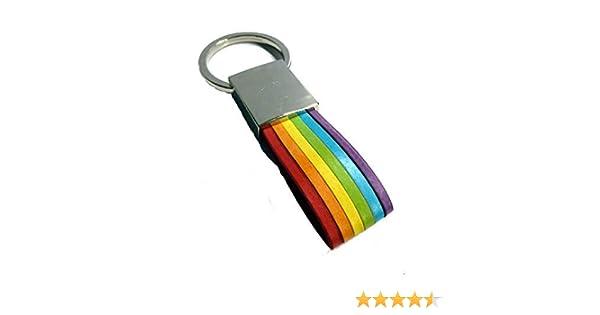 Llavero Orgullo Gay Bandera Arco Iris: Amazon.es: Equipaje