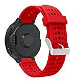 Oucan Garmin Forerunner 220 Watch Band, Soft Silicone Replacement Watch Band for Garmin Forerunner, Smart Watch