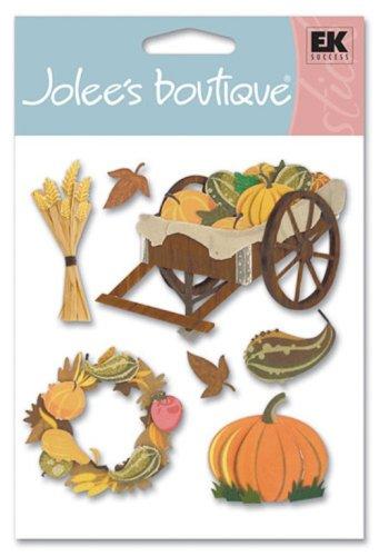 Jolee's Boutique Dimensional Stickers, Pumpkin Harvest