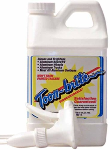 Toon-Brite Aluminum Cleaner 1/2 Gal (Aluminum Brite Cleaner)