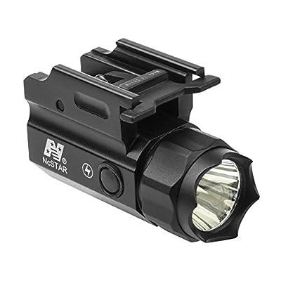 Tactical Compact Size STROBING LED Flashlight Kit w/ Integral Quick Detach Mount / Fits Beretta M9 M9A3 96A1 APX Handgun Pistols