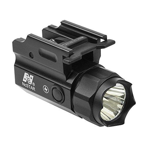 M1SURPLUS Tactical Compact Size STROBING LED Flashlight Kit w/Integral Quick Detach Mount/Fits H&k Hk VP9 VP40 P30L HK45 Handgun ()