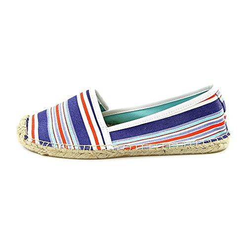 Tommy Hilfiger Women's Heyda Boat Shoe,Blue Stripe,9.5 M US