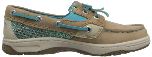 Sperry Butterflyfish - K Unisex-Kinder Linen/Turquoise