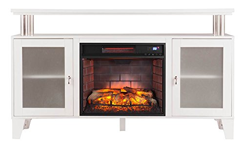 Southern Enterprises Inc Cabrini Entertainment Center with Electric Fireplace