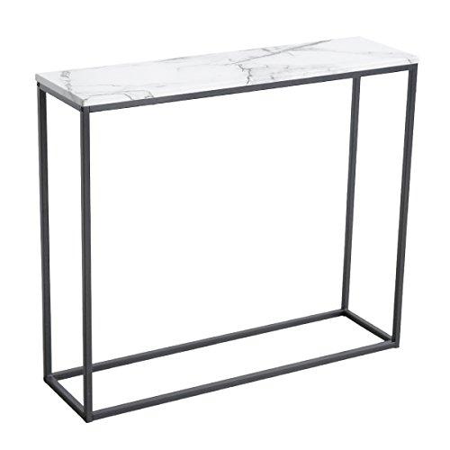 Amazon.com: Roomfitters Sofa Console Table Marble Print