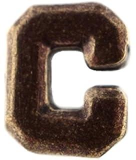 """Number """"8"""" Bronze Ribbon Attachment Device Appurtenances."""