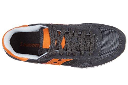 Saucony scarpe sneakers donna camoscio nuove shadow grigio