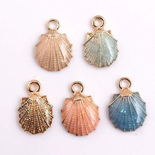 (Charms - Alloy Shell Enamel Charms Pendants Handbag Fashion Jewelry 20pcs A Lot 13x19mm - Pendant Pendants Charm Bracelets Charms Women Enamel Flat Back Charm Enamel Japanese Pink Keyring Bohe)