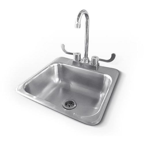 RCS Gas Grills RSNK1 Sink and Faucet in Stainless Steel by RCS Gas Grills
