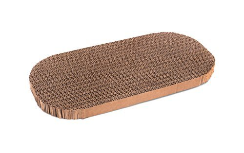 Prevue Pet Products Raceway Lounger Replacement Pad Scratcher, Natural by Prevue Pet Products